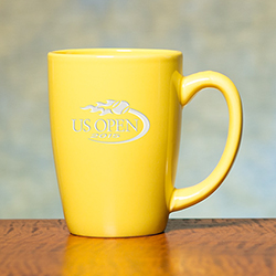 Cafe Ceramic Mug, Yellow