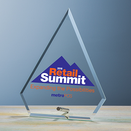 Beveled Arrow Award UV