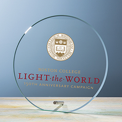 Beveled Circle Award UV