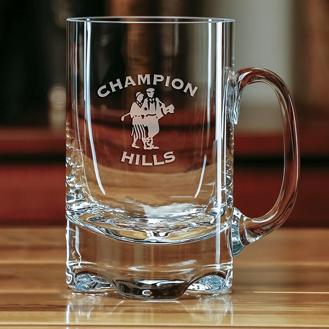 new york oversized mug sterling cut glass