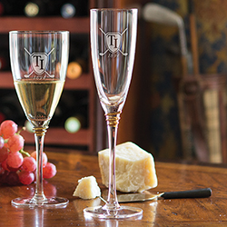 Midas Gold Champagne Flute