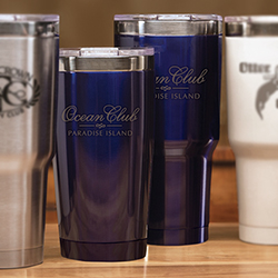 Boss Blue Tumbler - 32 OZ.
