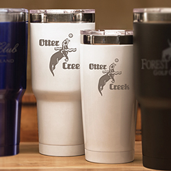 Boss White Tumbler - 32 OZ.