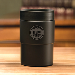 Boss Black Can Cooler