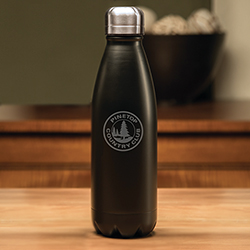 Boss Black Swig Bottle - 17 oz