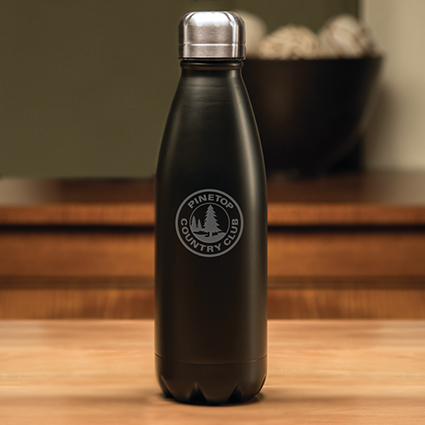 Boss Black Water Bottle - 17 o