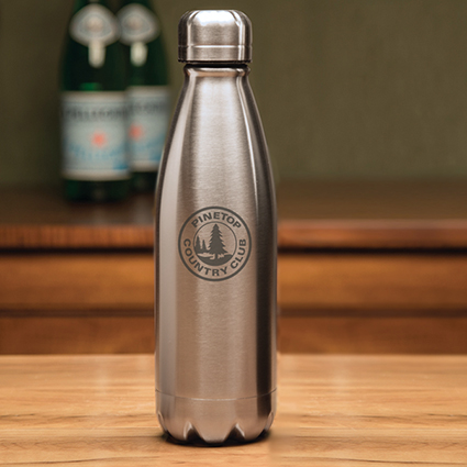Boss Silver Water Bottle