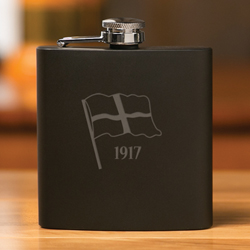 Newport Black Flask