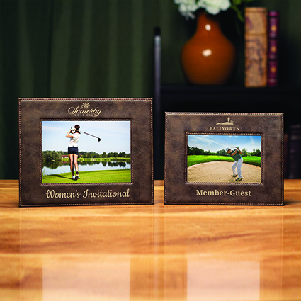 Leatherette Picture Frame, 4x6