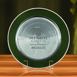 Fairfield Round Tray - Hunter Green