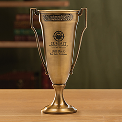 Vanguard Trophy Cup - Antiqued Brass