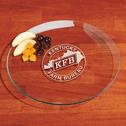 Round Serving Tray - 12