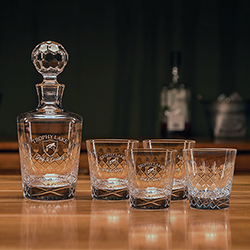 Paragon Whiskey Decanter Set