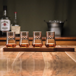 BOURBON 5 PIECE TASTING SET